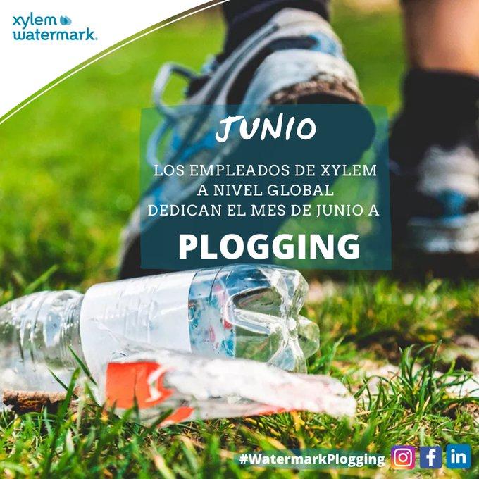 En Junio, @XylemInc te invita a un reto de recogida de basura en la #naturaleza completando un Bingo, mientras haces #Plogging. Si participas, #Xylem ...