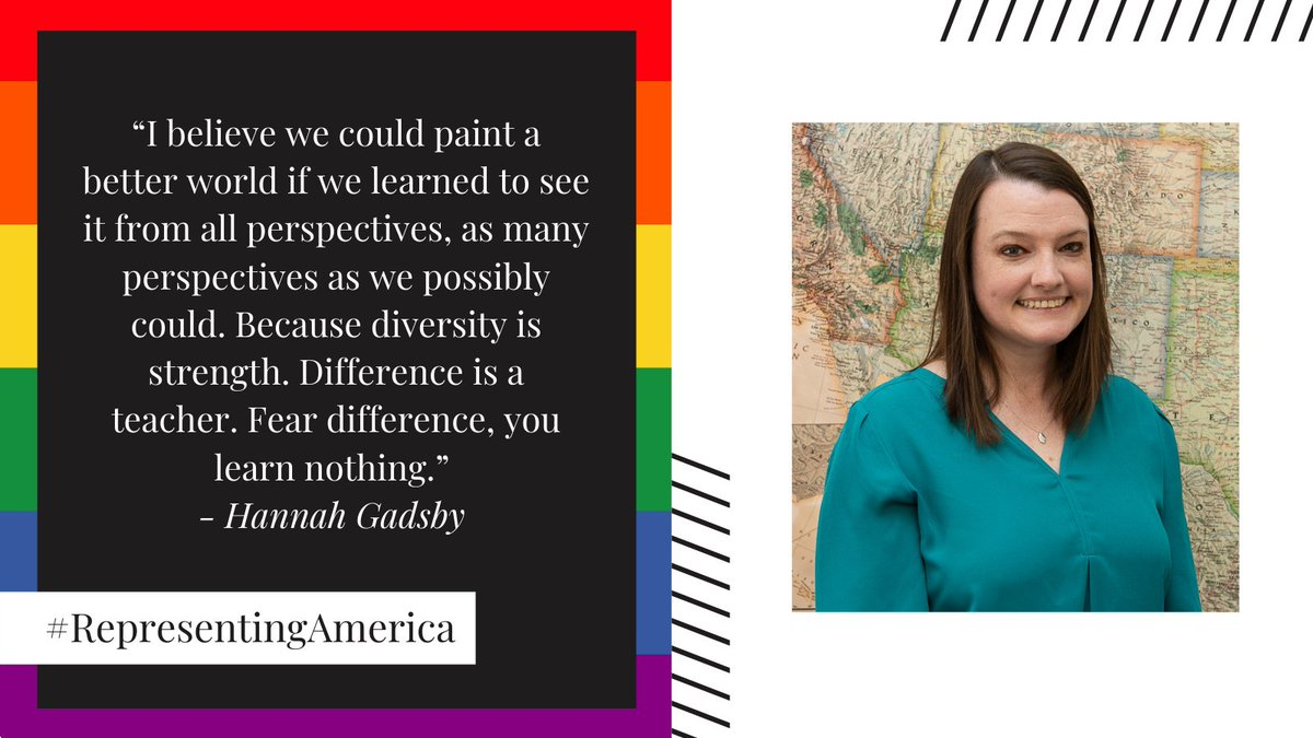 #RepresentingAmerica, Emily Teickenson is the Consular Chief in Bratislava, Slovakia. She joined the Foreign Service in May 2013 and has also served in Sao Paulo, Brazil, and Kyiv, Ukraine. Emily is originally from Boulder, Colorado, and loves alpine skiing 🇸🇰♥️🇺🇸#Pride2021 https://t.co/GsTZPFslR6