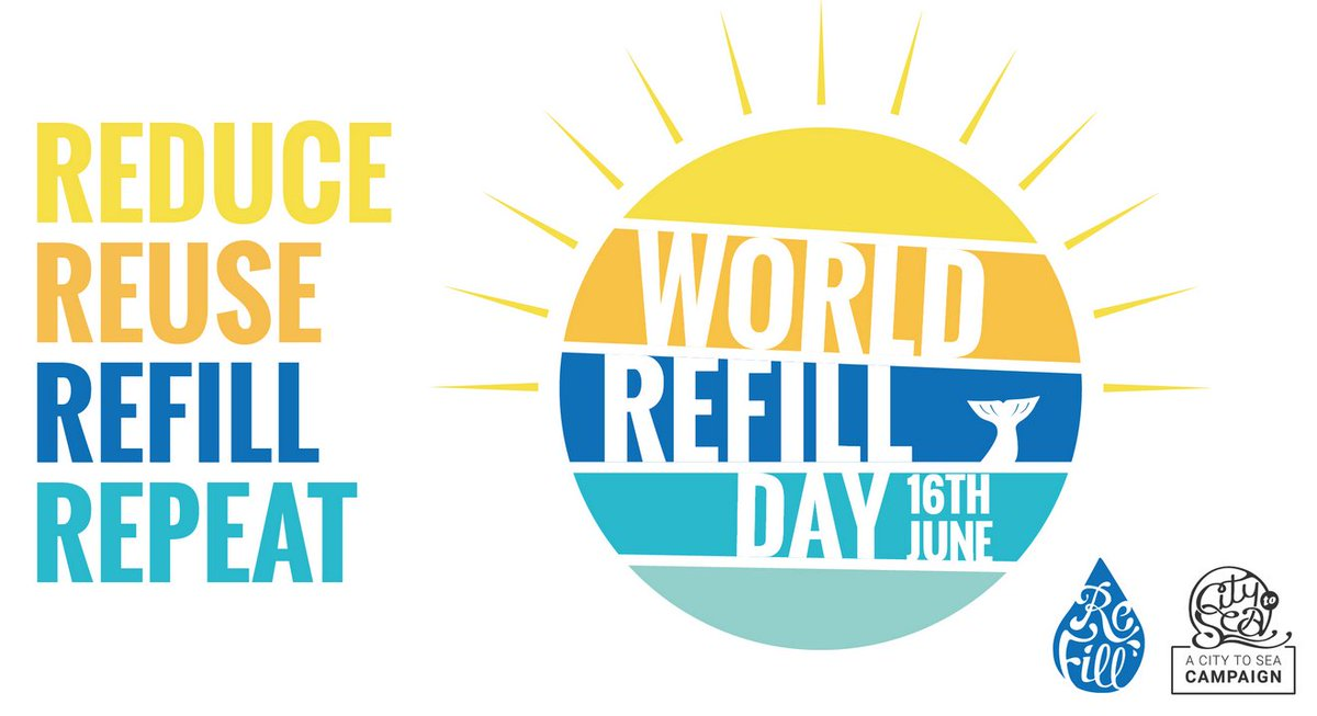 Are you a forward-thinking business in the food-to-go & retail sector?    With ONE WEEK to go before #WorldRefillDay, @citytosea is calling businesses to commit to offering free tap water refills by joining the @Refill app. Join the #RefillRevolution now: https://t.co/LTrDd7sLAf https://t.co/eYAt7CWX76