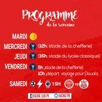 Image for the Tweet beginning: 📆 Le programme de la