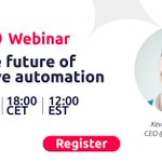 """Image for the Tweet beginning: [WEBINAR] Join """"The Future of"""