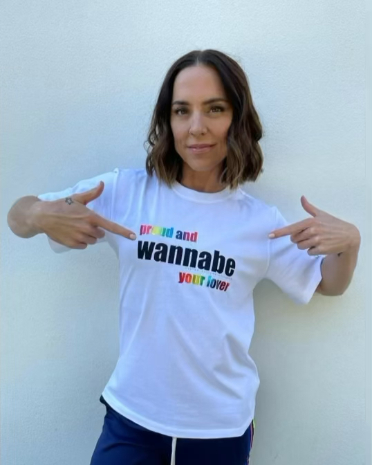 PROUD AND WANNABE YOUR LOVER🏳️🌈Happy #PrideMonth! We've partnered with the wonderful @aktcharity for the third year, to create a special Wannabe T-shirt! 100% of the proceeds go to them to continue funding their amazing work x VB  Discover #Pride2021: https://t.co/nuunXshdJ4 https://t.co/Sa1kCoq6ZH