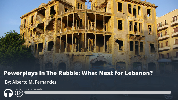 #ICYMI: Powerplays In The Rubble: What Next for #Lebanon? - Audio of report here https://t.co/wyKkgXieJ5 #MEMRI https://t.co/UdZB0evx32