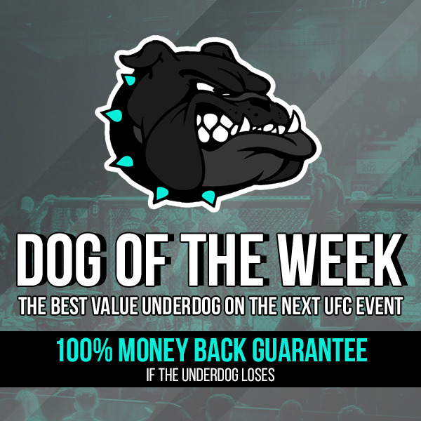 🐶 DOG OF THE WEEK  The #UFC263 Dog of the Week at MMAPlay365 is now LIVE!  The Dog costs only $1.99 and it comes with a 100% MONEY BACK GUARANTEE if the underdog loses!  Let the dog out now - https://t.co/1MBFYe5cl9 https://t.co/fKEpEe2BZK