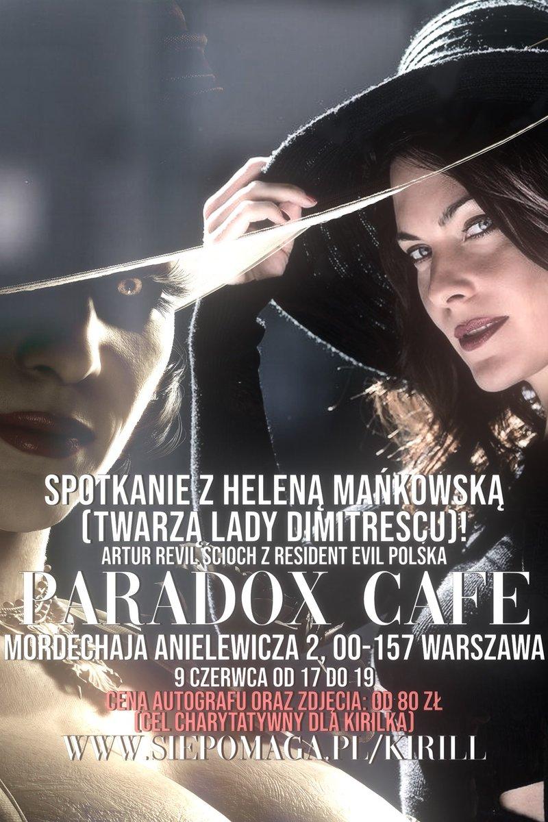 #Warsaw #Warszawa #Spotkanie #ResidentEvil #AlcinaDimitrescu #CelCharytatywny https://t.co/ByPoHnk6bc