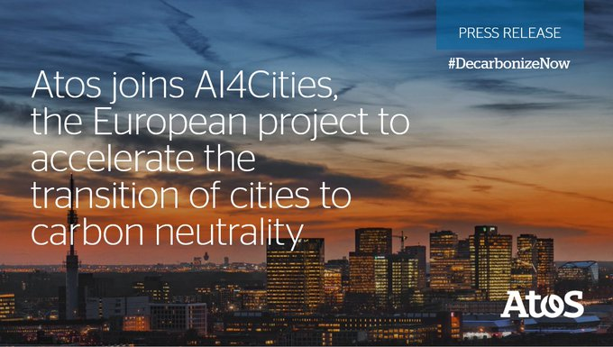 We are excited to join @AI4cities_EU, a 3-year EU-funded project which aims to help...