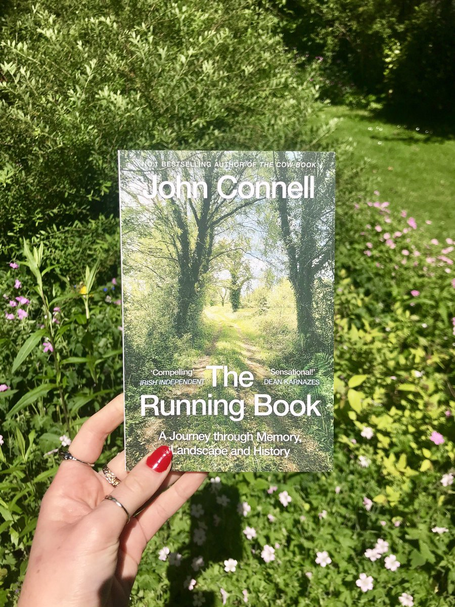 The perfect read to kickstart marathon training round 2!  Beautifully crafted, engaging and insightful, The Running Book by John Connell is a life affirming read about the nature of happiness.   Out in paperback 24th June ☘️ https://t.co/BI2Ar7vcPi