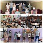 Image for the Tweet beginning: Los alumnos de Primaria hacen
