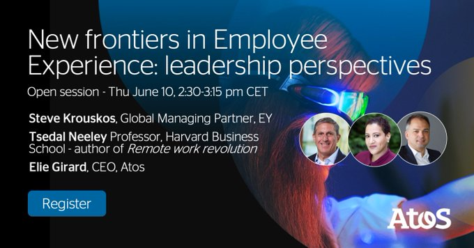 Is your #EmployeeExperience a competitive advantage?🗓On June 10, join 3 great...
