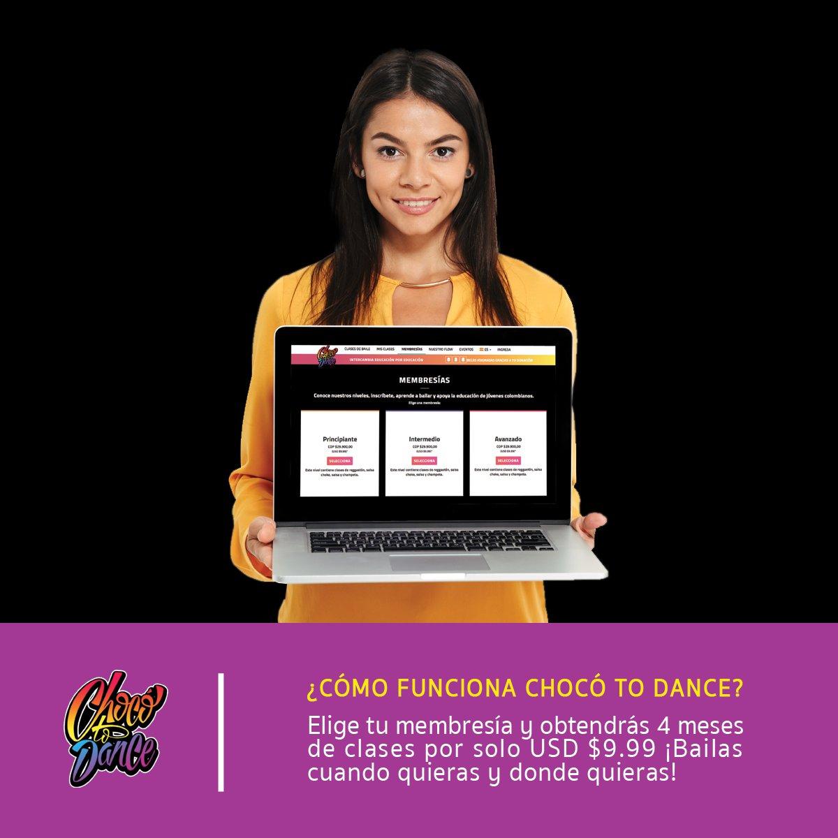test Twitter Media - Lo primero será elegir una membresía según tus habilidades de #baile. Recuerda que no importa cuál escojas porque con cada nivel tienes clases en cuatro géneros: #Reggaeton, #Champeta, #Salsa y #Choke.  https://t.co/EyUecYn8mf https://t.co/L5Jkvpawwc