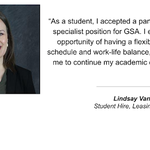The people of GSA series highlights individuals from our mission-ready workforce.  Lindsay Vanover is a leasing specialist in Auburn, Washington: https://t.co/3lSICcArek #ThePeopleofGSA