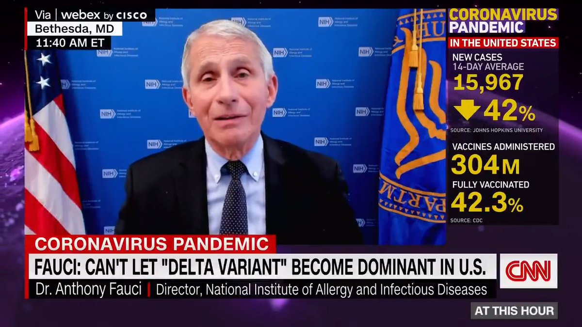 """Dr. Anthony Fauci said that the FDA is """"very, very carefully"""" looking into extending Johnson & Johnson vaccine expiration dates and re-utilizing doses. https://t.co/Hy28C5JDf4 https://t.co/TGEeyElJXI"""