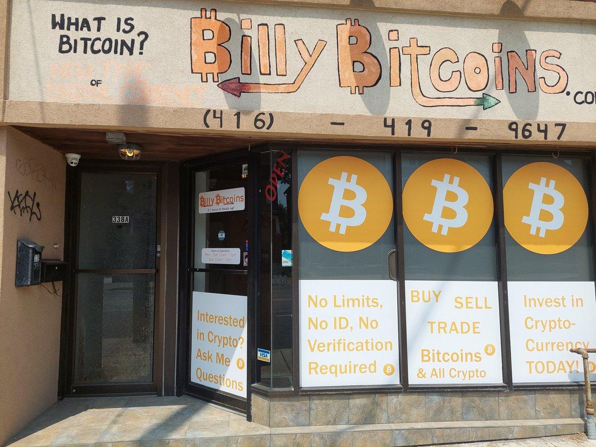 bitcoin store toronto p2p bitcoin commercio