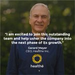 Healthe is proud to announce the appointment of Gerard Meyer as its CEO.  Mr. Meyer joins the company equipped to steer the next phase of growth and development.  Learn more: https://t.co/4rzvjlnpvd @gerardmeyer  #healtheinc #uvc222