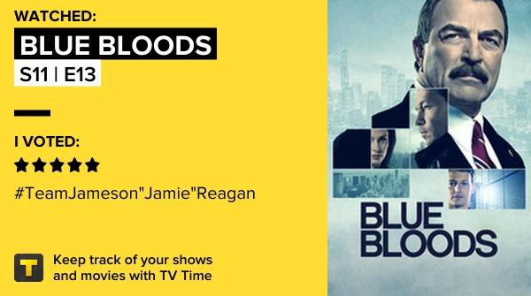 I've just watched episode S11   E13 of Blue Bloods! #bluebloods  https://t.co/xeR04yIkUX #tvtime https://t.co/Um3m7a5skJ