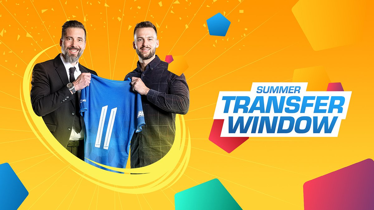 The summer transfer window is open!  Which big signings do you predict? 🤔✍ #football https://t.co/db5uS0PtUa