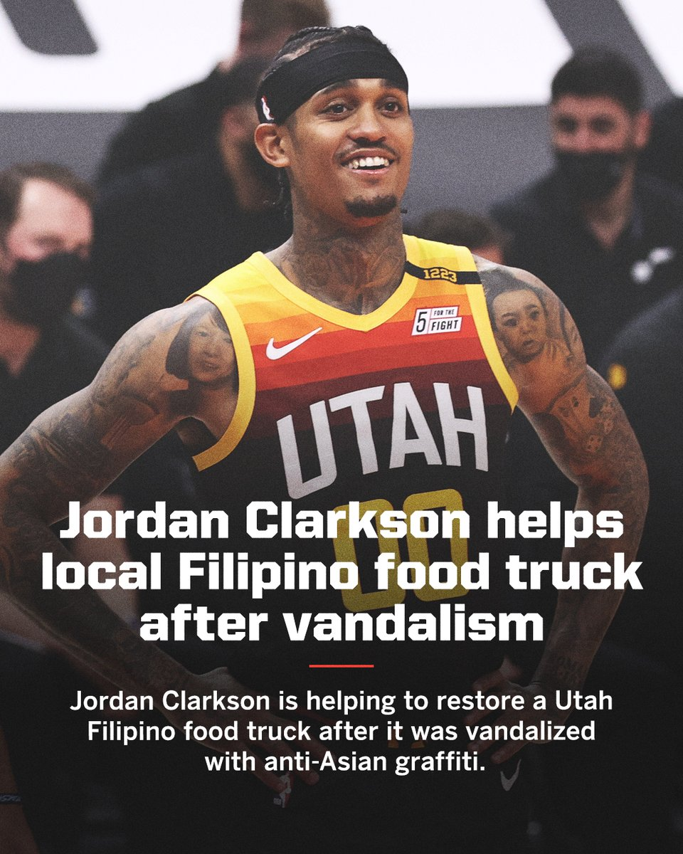 .@JordanClarksons helped a local business and took a stand against Asian hate ❤️ https://t.co/iQT0DOS7lr