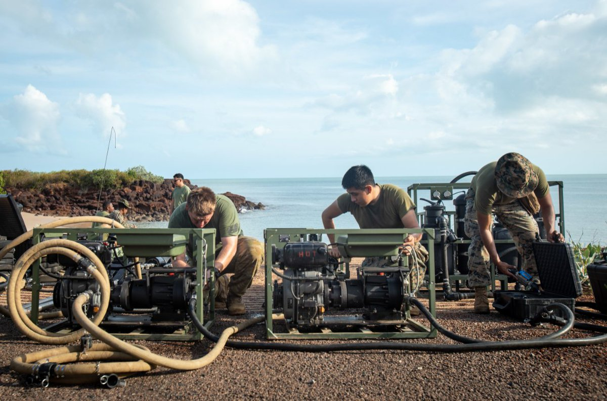 """""""Deploying side by side allows us to get to know each other's processes, policies and procedures at the personal level."""" -1st Lt. Bryce Williams, ADF exercise controller  Read how @MrfDarwin and the ADF completed Exercise Crocodile Response! https://t.co/AN1SkVpCbO https://t.co/1FSVy1whAV"""