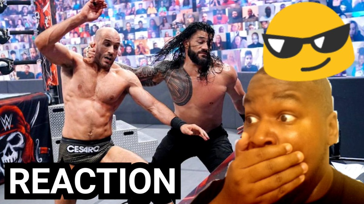 RT @TavonMyers161: My Reaction to Everything Wrong With Wrestlemania Backlash 2021  #wwe   https://t.co/UaaeTHLsiS https://t.co/RHusR0gP2Y