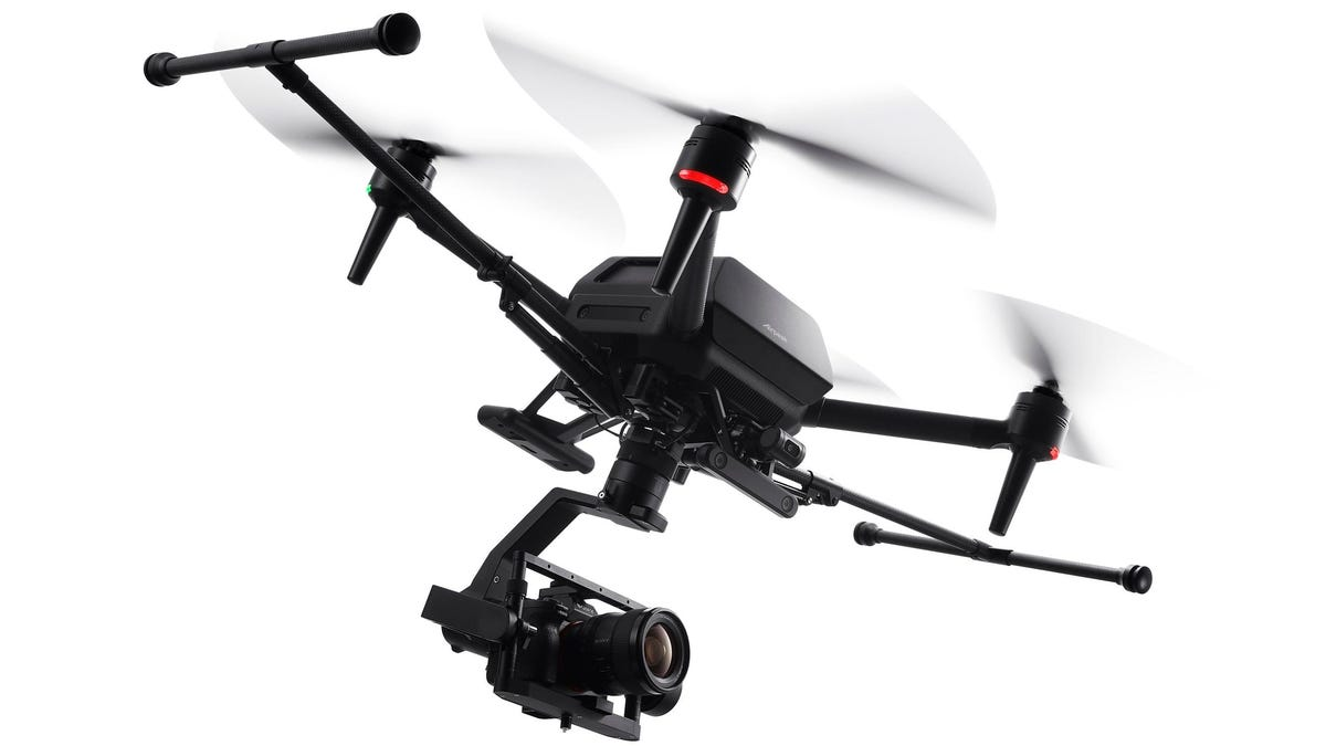 RT @Gizmodo: Sony's First Drone Is a $9,000 Professional-Grade Beast