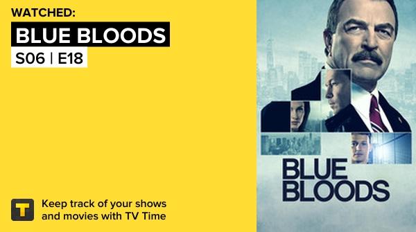 I've just watched episode S06   E18 of Blue Bloods! #bluebloods  https://t.co/ArKvcq4Ce4 #tvtime https://t.co/8SJFh6Z7dK