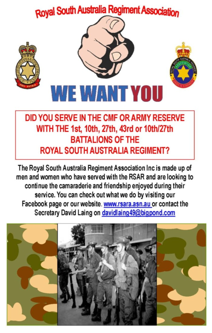 test Twitter Media - The RSAR Association is looking for members who served with the battalions. https://t.co/xhjALSz6sZ