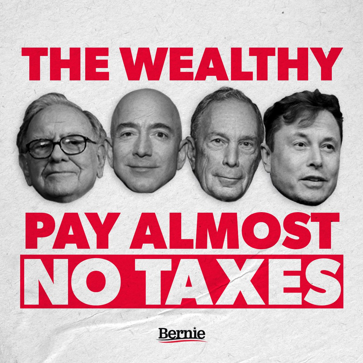 Why should we be surprised that in a corrupt system, the very, very richest people in this country pay, in a given year, ZERO DOLLARS in federal income tax? https://t.co/QGHQm8vMiZ