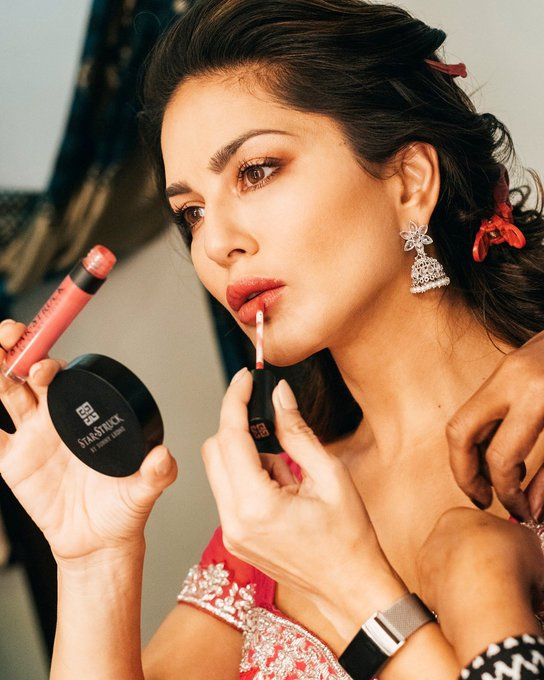 Lockdown is almost over!! 😍 Time to go back to #BabyDoll - On stage and On Lips  . . #SunnyLeone @starstruckbysl