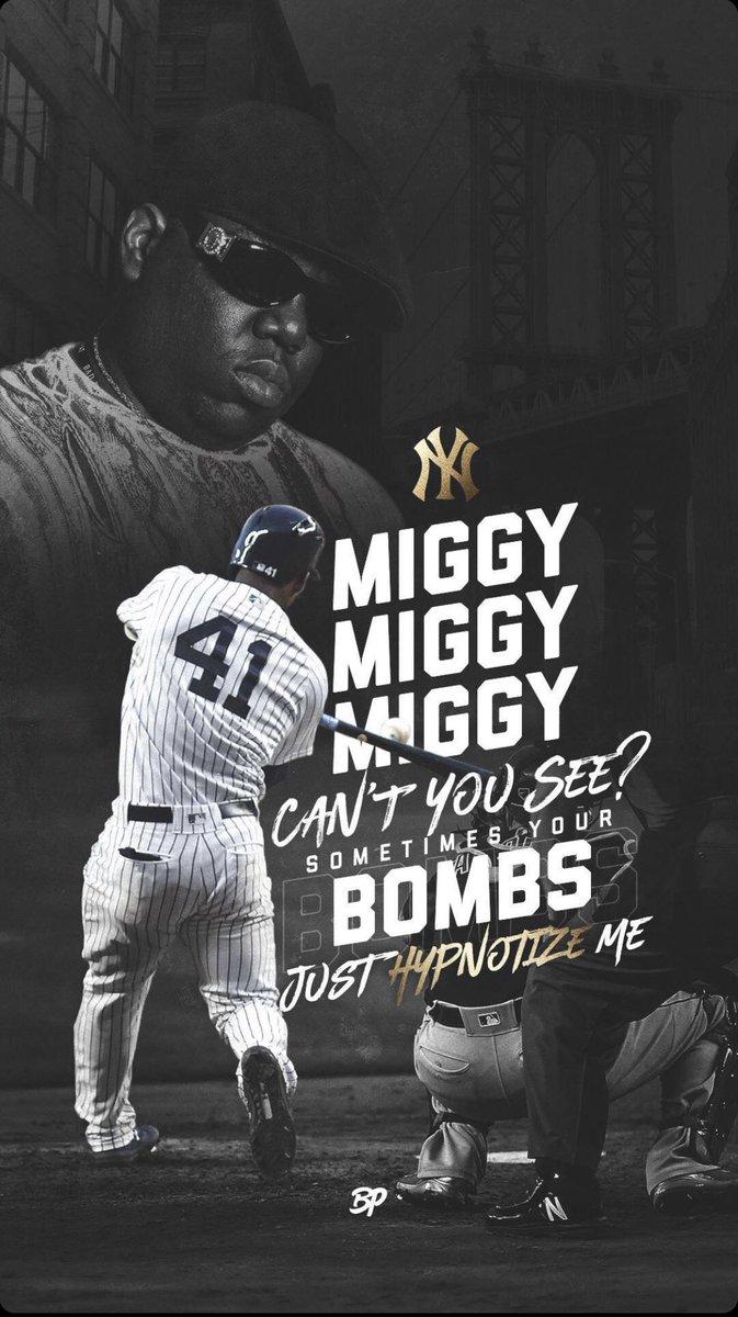 @BronxPinstripes's photo on Miggy