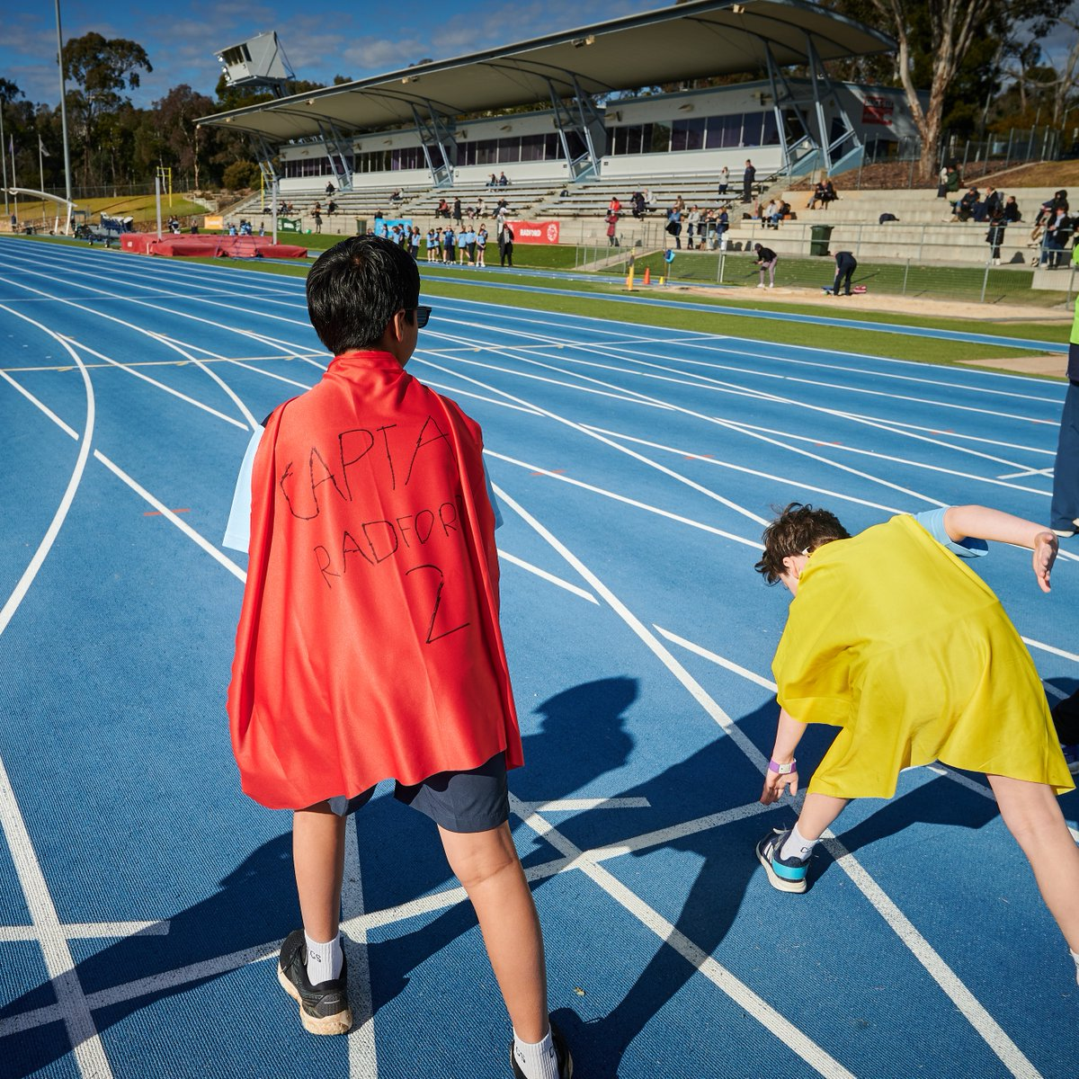 Fantastic spirit as always, at the CGS Primary School Athletics Carnival, held @theAIS. Big congratulations to everyone involved. It was a great day.