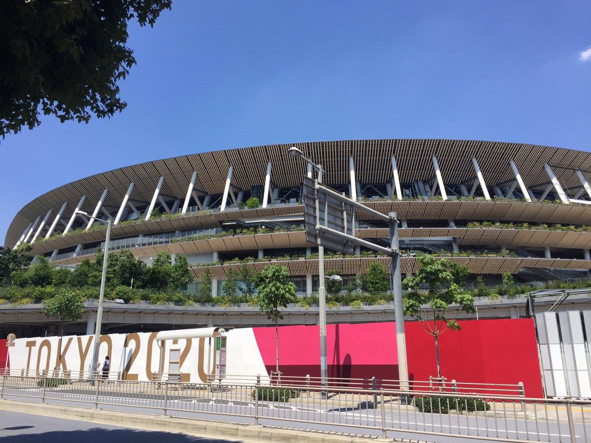新国立競技場・東京体育館周辺のオリンピック通行規制が始まったようなのでぐるっと見てきました。6/9撮影...