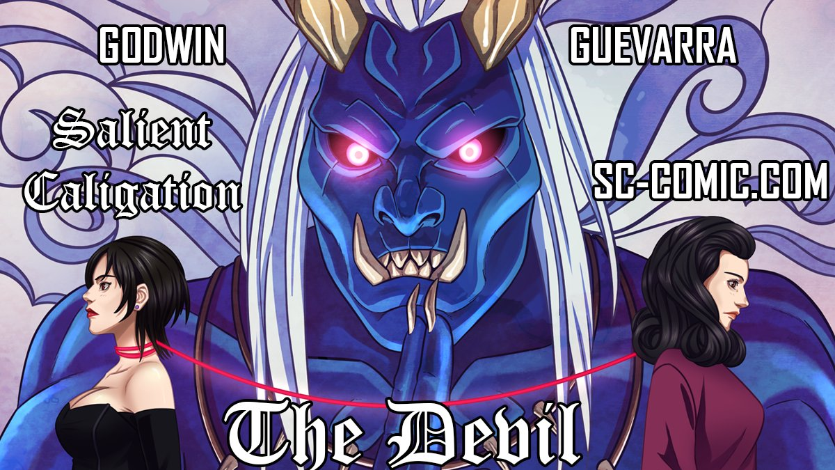 """""""Salient Caligation"""" is now scheduled to update through the end of September. """"The Devil"""" will end 9/1/21 and """"The Lovers"""" will start 9/15/21. It's a great time to get caught up! https://t.co/kveTcFYACf Art by @nicoyguevarra #amwriting #manga #horror #asianauthors #comics https://t.co/JKw41dr4rB"""