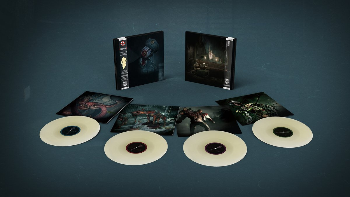 Revisit the R.P.D. with the #ResidentEvil 2 (2019) OST #vinyl  • 4LP box set • Limited Edition 'undead iris' colourway exclusive to Laced • Ships Feb 2022  Pre-order now: https://t.co/lddjNtohkU  @RE_Games #RE2 https://t.co/Wg49XGSZZq