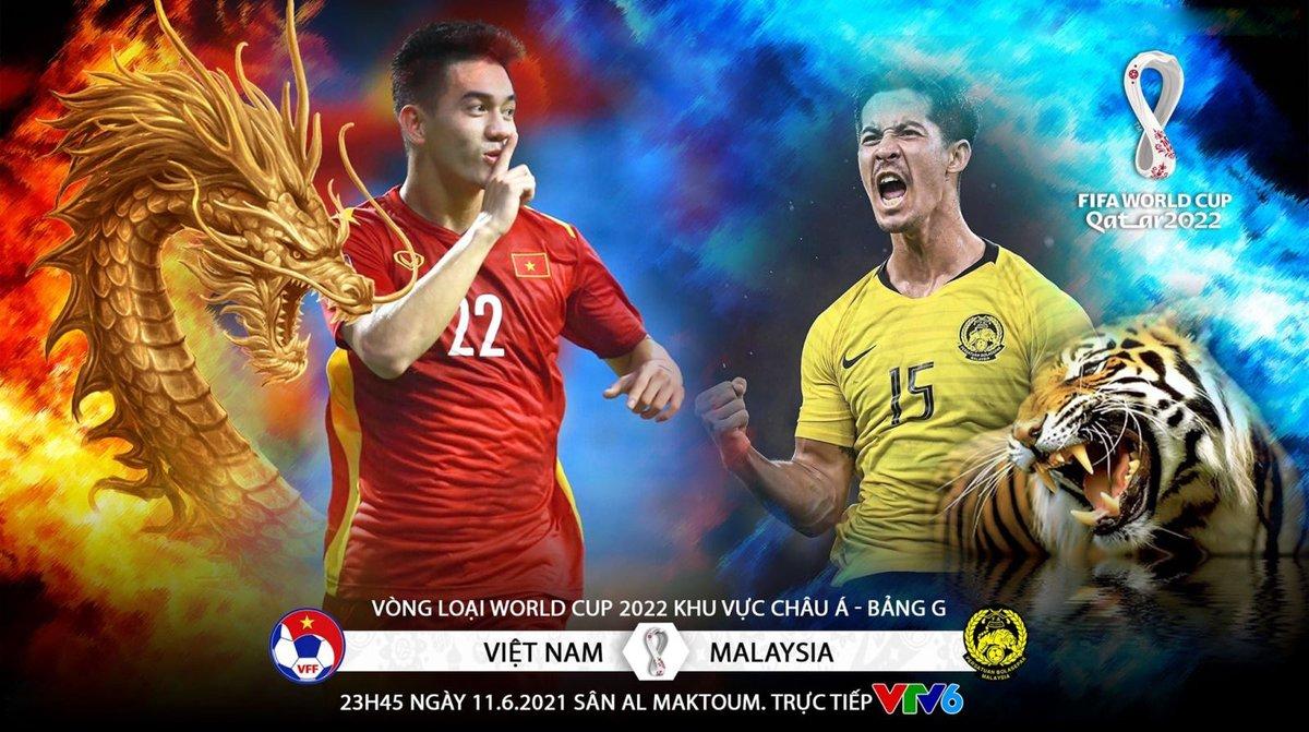 Nhận định Malaysia vs Việt Nam, 23h45 ngày 11/6 – VL World Cup 2022