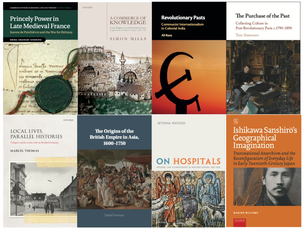 Three more videos now available from #RHSGladstonePrize shortlisted authors https://t.co/U3hA8Gl6uG  From French princely power, to the British empire in Asia & Communist internationalism in India. Winners of Gladstone and #RHSWhitfieldPrize announced 23 July.  #twitterstorians https://t.co/Aeum703xqF