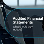Image for the Tweet beginning: Audited Financial Statements – What