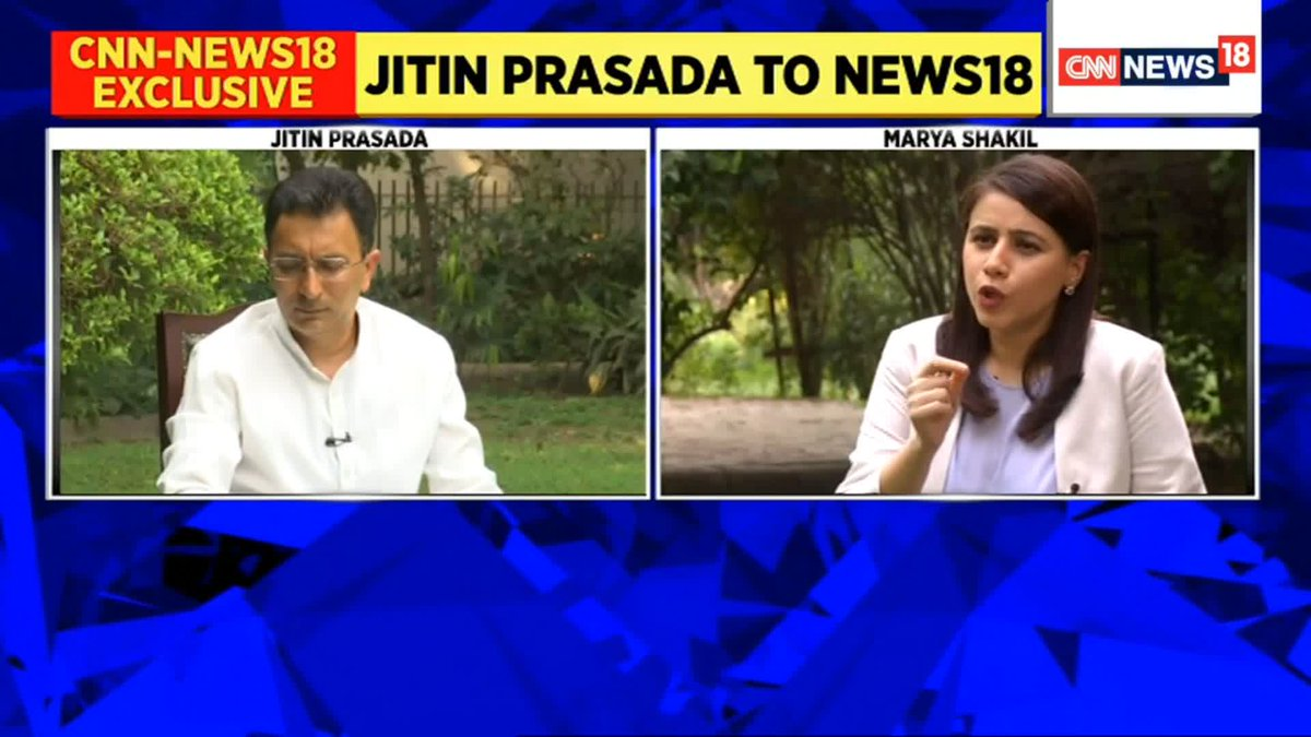 #EXCLUSIVE  I have seen the popularity of the PM himself. People's hope & trust in him was visible when we fought elections. So, that is what drove me to it [join BJP]:  Jitin Prasada (@JitinPrasada),  BJP Leader.   Join the broadcast with @maryashakil. https://t.co/oY15JAzOzl