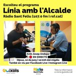 Image for the Tweet beginning: 📻Avui dijous a les 12h