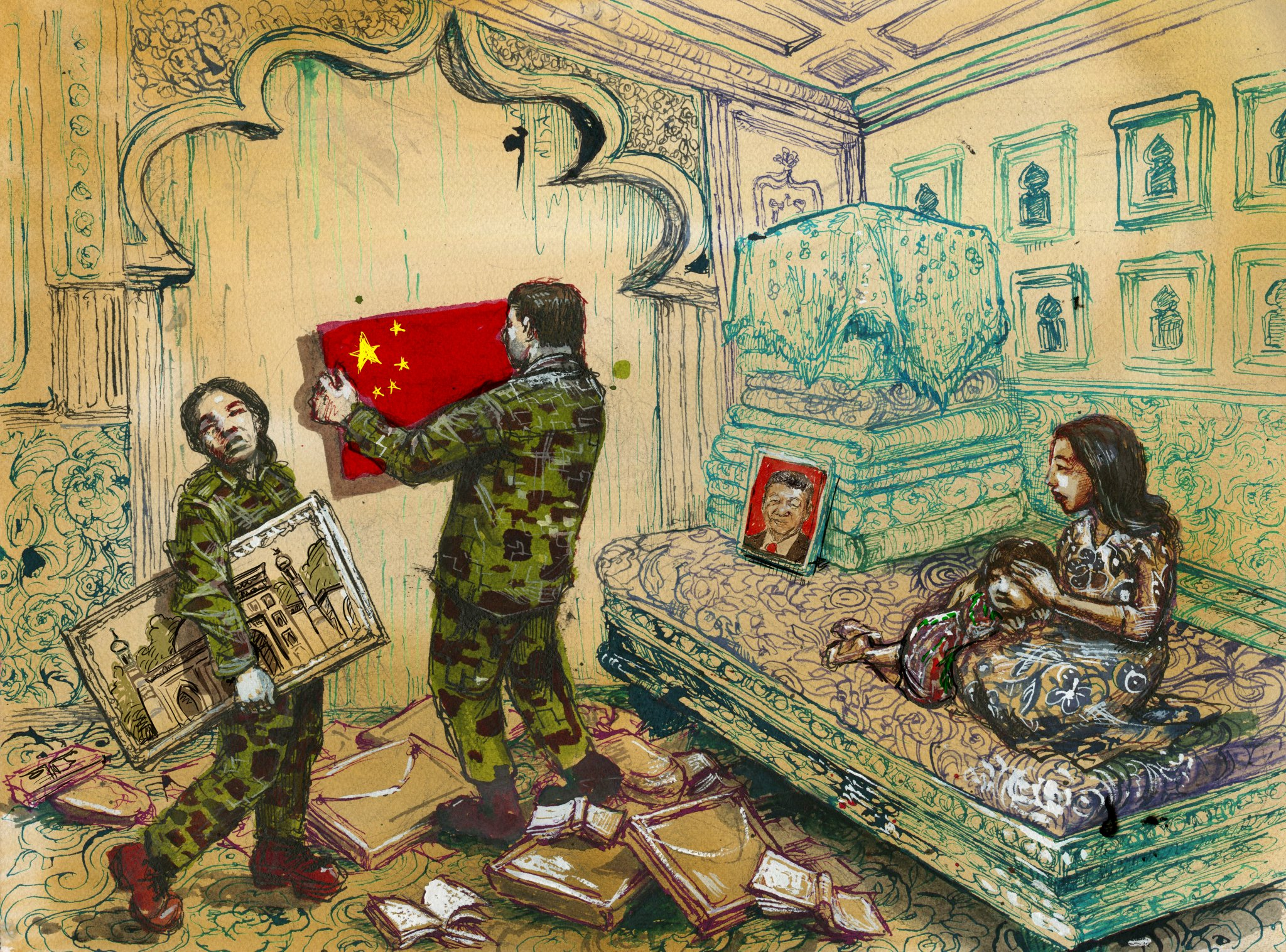 China has created a dystopian hellscape in Xinjiang, Amnesty report says Photo