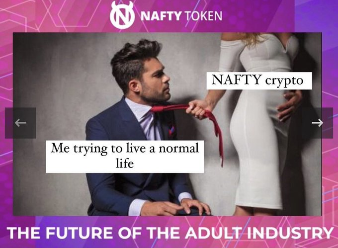 NAFTY is already here!!! ⭐️ Hurry up! BUY now! ✌️ MARKETING IS STARTING NOW📲❤️ https://t.co/a0Cv2b17Zc