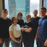 Image for the Tweet beginning: Mindsync development team meeting with