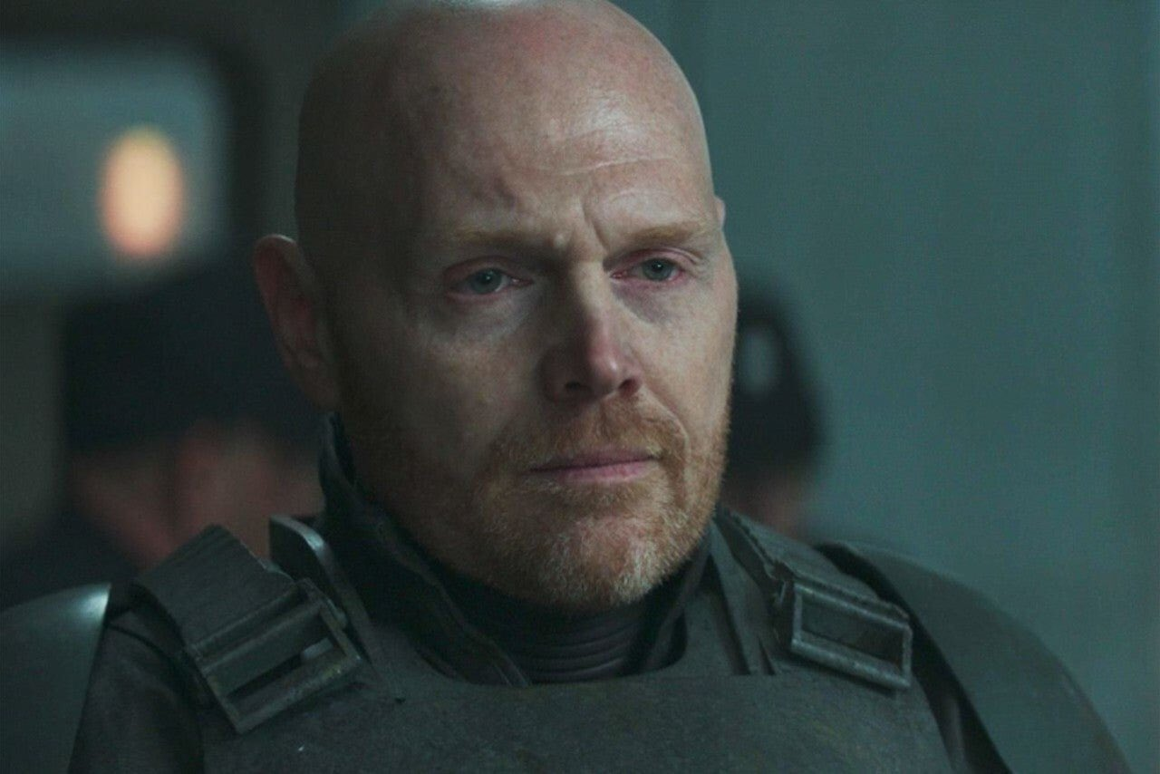 Happy birthday to Bill Burr ( who played Mayfeld in The Mandalorian! May the Force be with you!