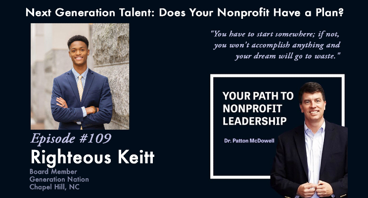 Don't miss @RighteousKeitt, @GenNation board member and alum, share his civic leadership experiences and advice on the Path Podcast!
