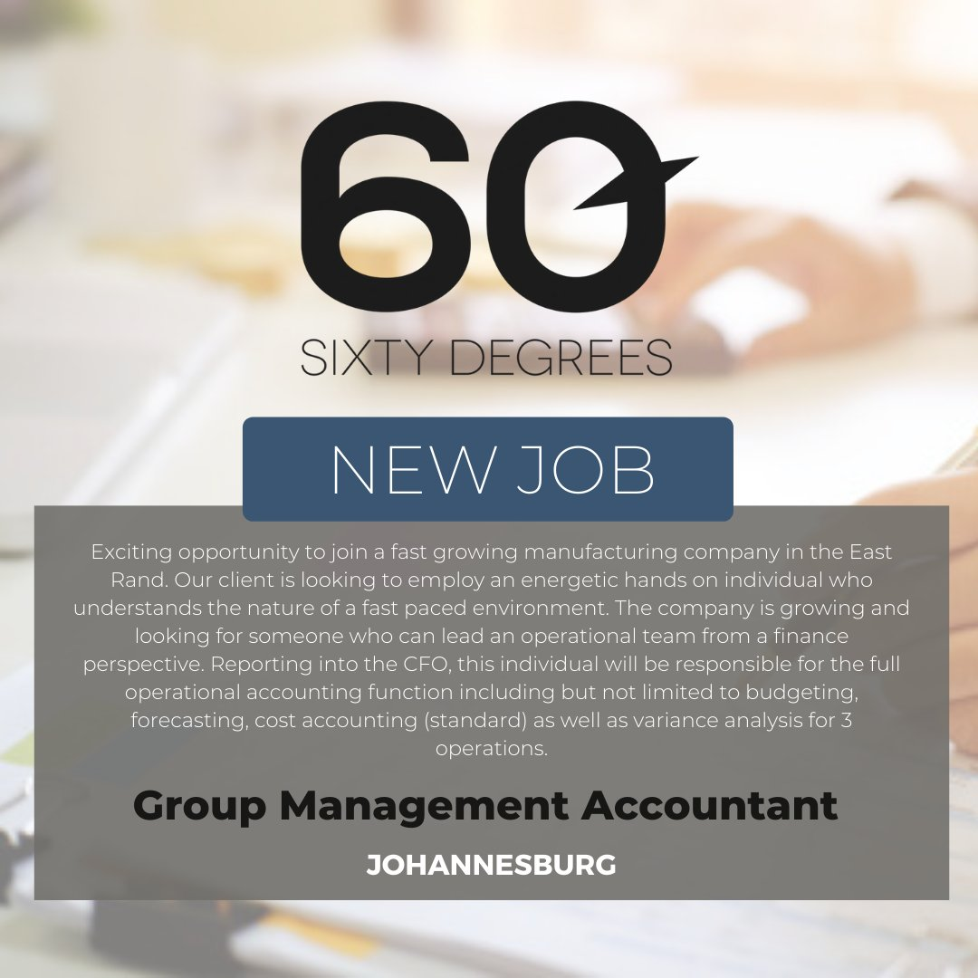 test Twitter Media - New #JobAlert - Group Management Accountant in Johannesburg   For more information & to apply, please click on the link below;  https://t.co/05vWIRpCCm  #nowhiring #accouting #financejob https://t.co/lKTB1JqkT8