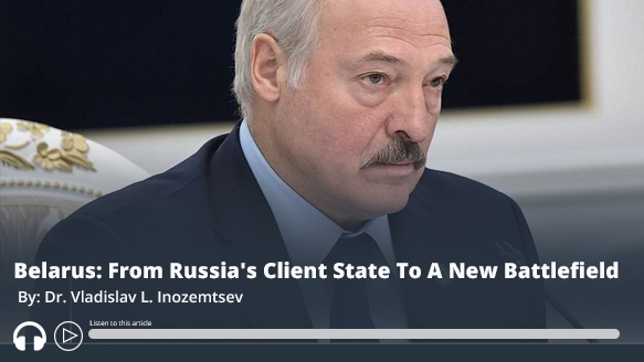 #Belarus: From #Russia's Client State To A New Battlefield - Audio of report here https://t.co/R0LLQbAY9d #MEMRI https://t.co/3Nh8JrQPEN