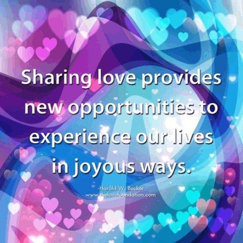 @JanetNestor @SathieGounden @LisaTruthJohns @1228erin @SteveHuang68 @PoloOrtiz9 @roamingpiscean @Grace19001371 @BarbaraLoraineN @mukulnandi1972 @LUTLjerry @cvarsalona @LesleyLupo @Nikhil63870659 @LovemakersF @PrachiMalik @pkamla1 @loveGoldenHeart @Susanjmccann @DeborahKozich @lightupthelove @ReikiArthur @Cynthia55678360 @elainemwalters @Dianne__LadyD @Gaurav0801 @BabyGo2014 @cherylcorless41 @janisexton @Lisandre_Moreau @Voieinterieure @MohdMuzzammilK @gede_prama @HOLLYJBIRD @GiGiBclub @madblack65 @cassiepullman @Fsxdoll @tmotola @mindfulheal @KariJoys @Inspireu2Action @melanie_korach @Laurettamylove @mscator @joybellabella @gary_hensel @eralbertson @MyPowertalk @alexdomelle Sharing #love provides new opportunities to experience our lives in joyous ways.   #JesseLewisChooseLoveMovement #LightUpTheLove #Love  #ThursdayThoughts  #JoyTRAIN #GoldenHearts #ChooseLove #StarFishClub #IAMChoosingLove https://t.co/EKkfWc4KmW