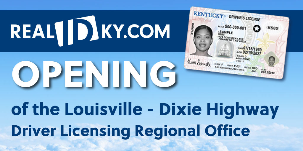 The Louisville - Dixie Highway Driver Licensing Regional Office is now open! Schedule an appointment online at https://t.co/gAEzoMsLuc