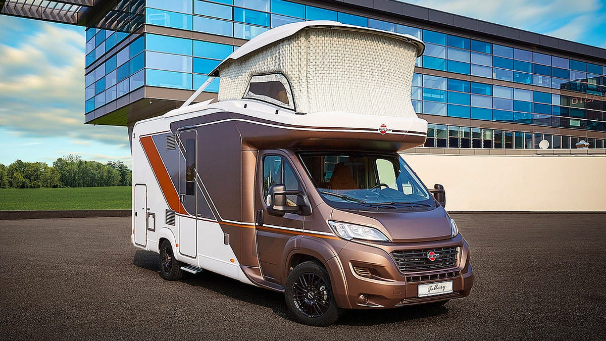RT @Gizmodo: An Inflatable Office Pops Out of This Compact RV's Roof