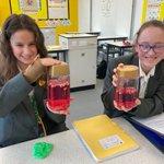 Image for the Tweet beginning: Investigating solids, liquids & gases