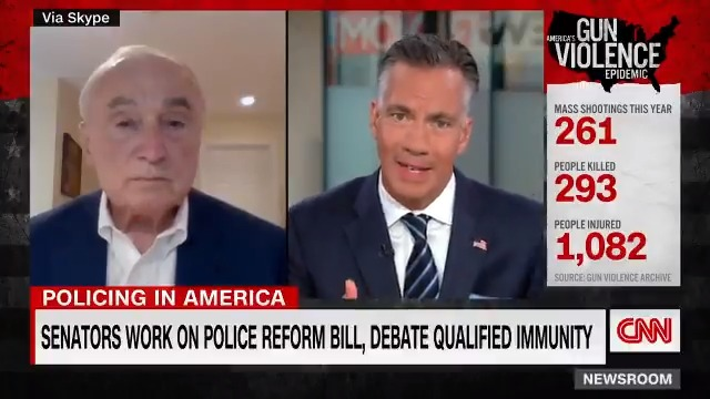 """Qualified immunity is """"a political hashtag in some respects that is driving policy,"""" former NYPD Commissioner Bill Bratton says. """"Most people, including lawyers, politicians and indeed police themselves would have a hard time explaining it to you."""" https://t.co/VC199tQUIk https://t.co/nxFt4UQ6S6"""